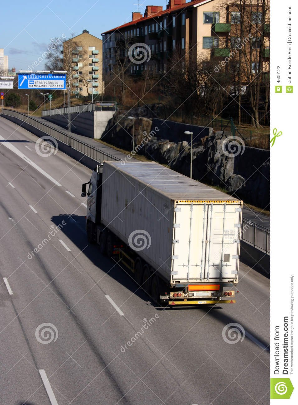 Container Truck Stock Photography - Image: 4509122