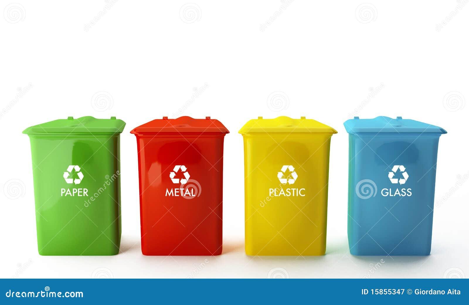 Урна из бумаги для мусора