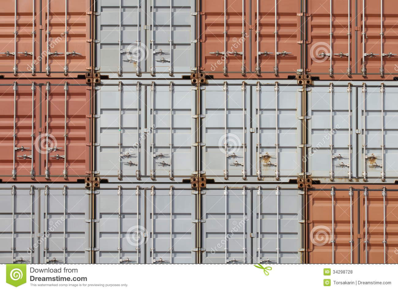 Background of industrail Freight shipping containers. 1300 x 952