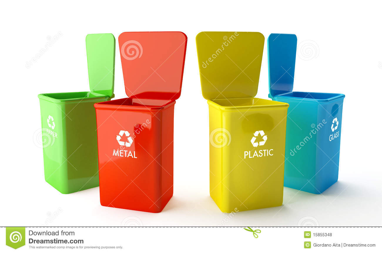 Containers voor recycling