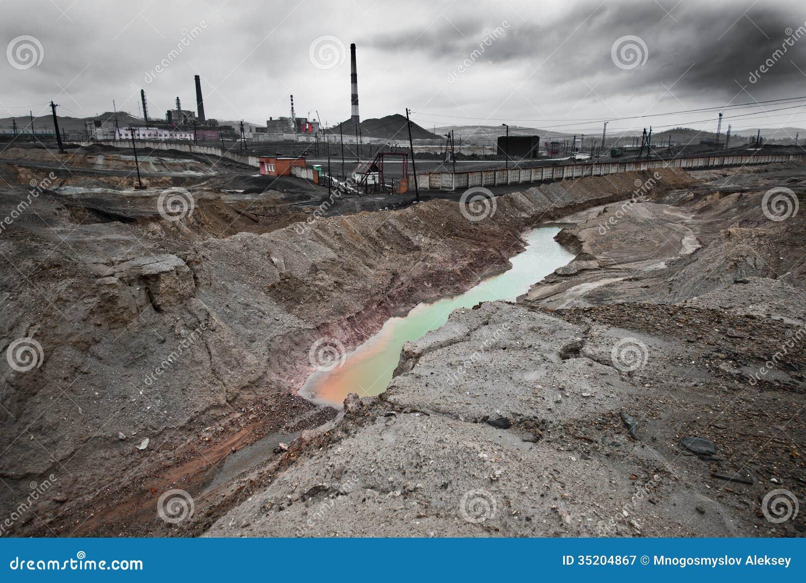 Contaminación de la ecología