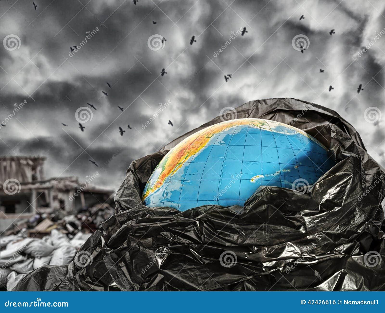 Contaminación de la tierra