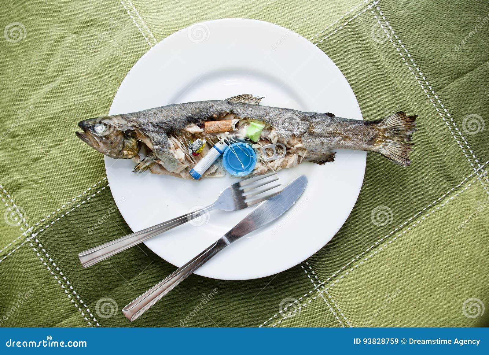 Contaminated fish