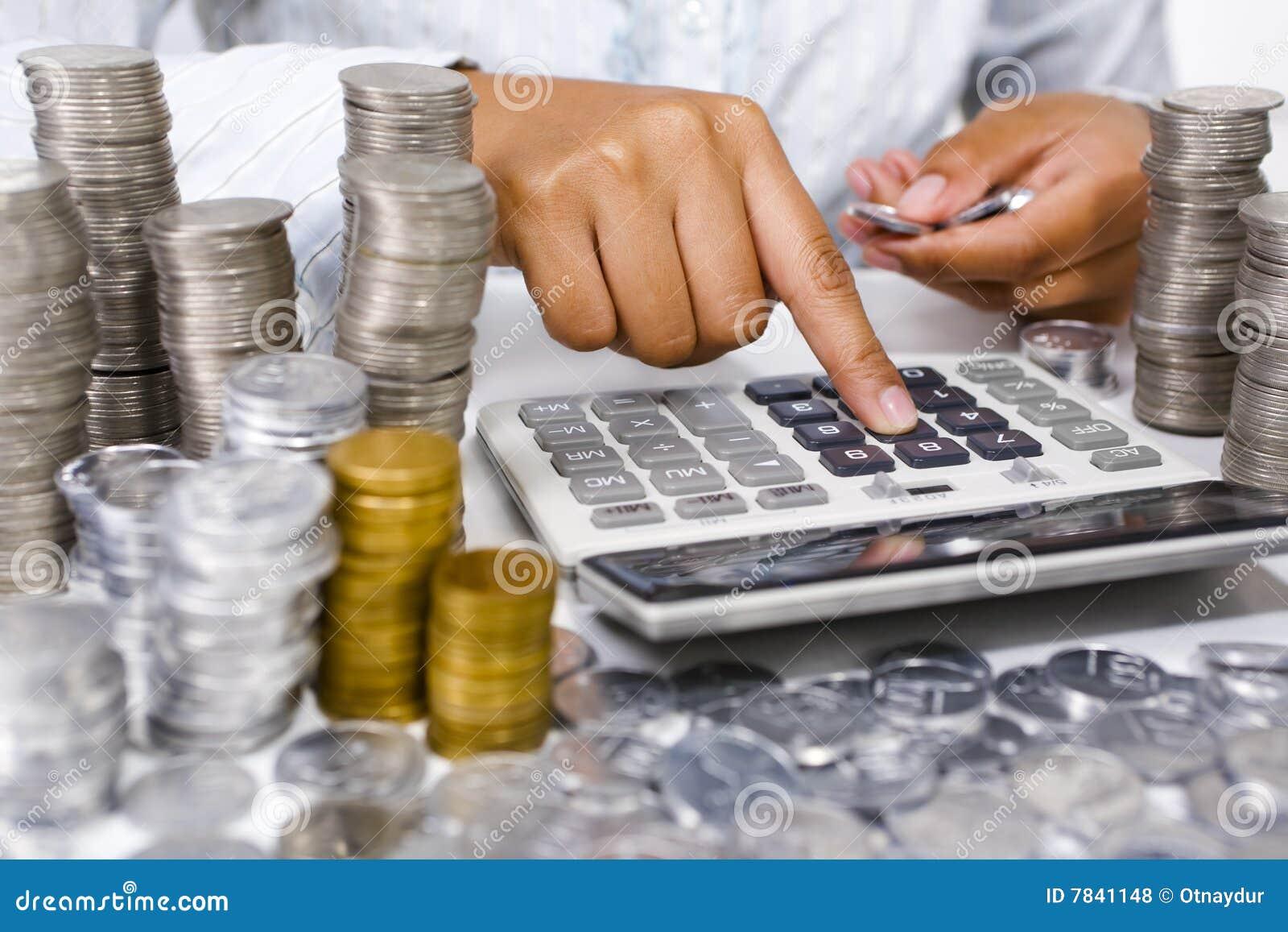 Contando o dinheiro