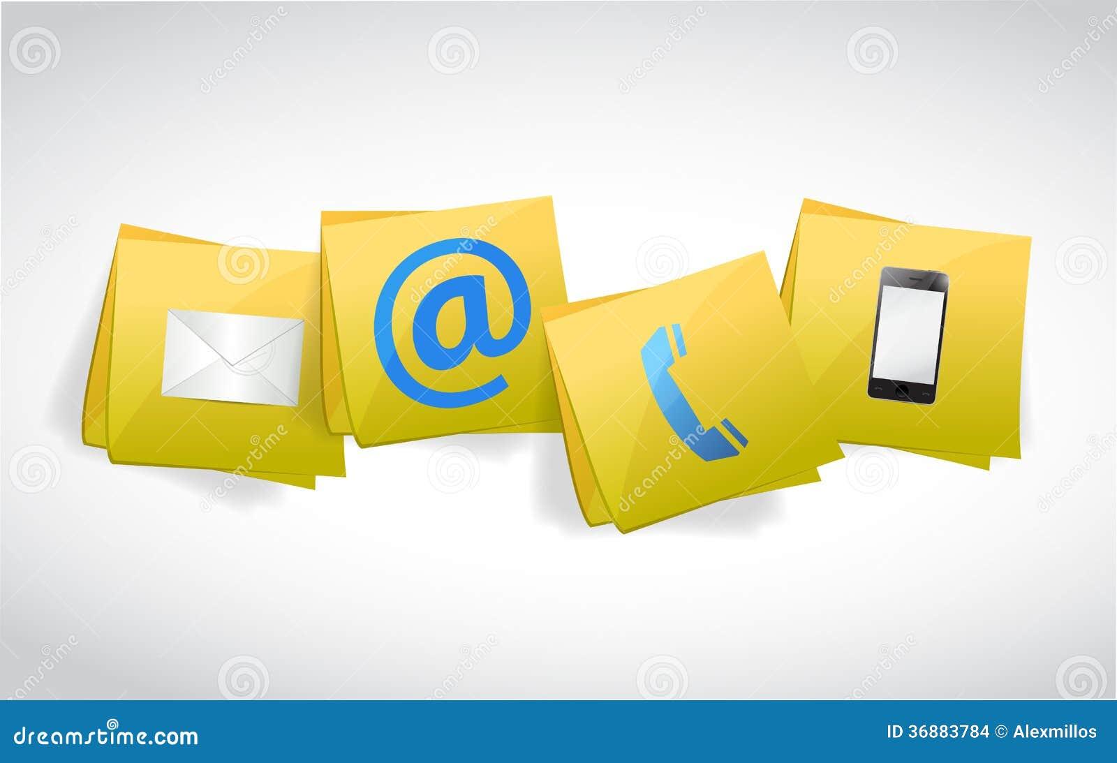 Download Contattici Progettazione Dell'illustrazione Della Posta Illustrazione di Stock - Illustrazione di carta, assistenza: 36883784