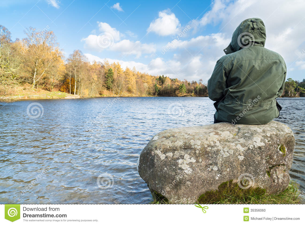 Contemplate stock photo image 35356060 for How s the fishing