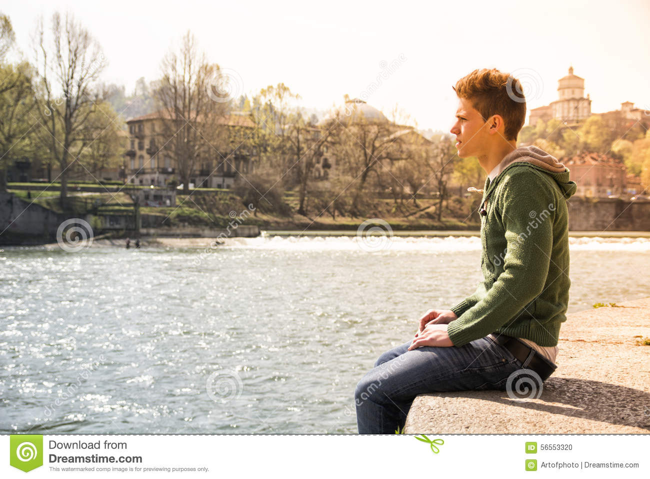 Sad boy sitting river stock images download 131 royalty free photos