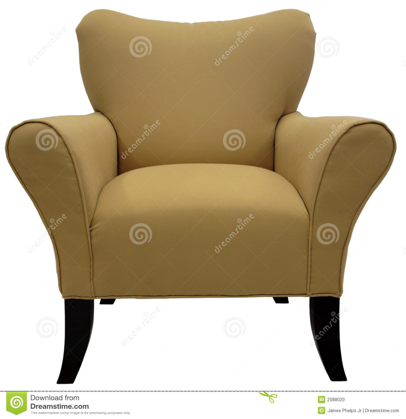contemporary accent chair stock photo  image  - contemporary accent chair stock photo