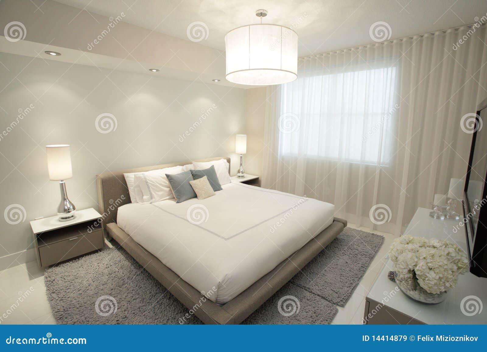 Lampadari In Camera Da Letto contemporary bedroom stock image. image of design, decor