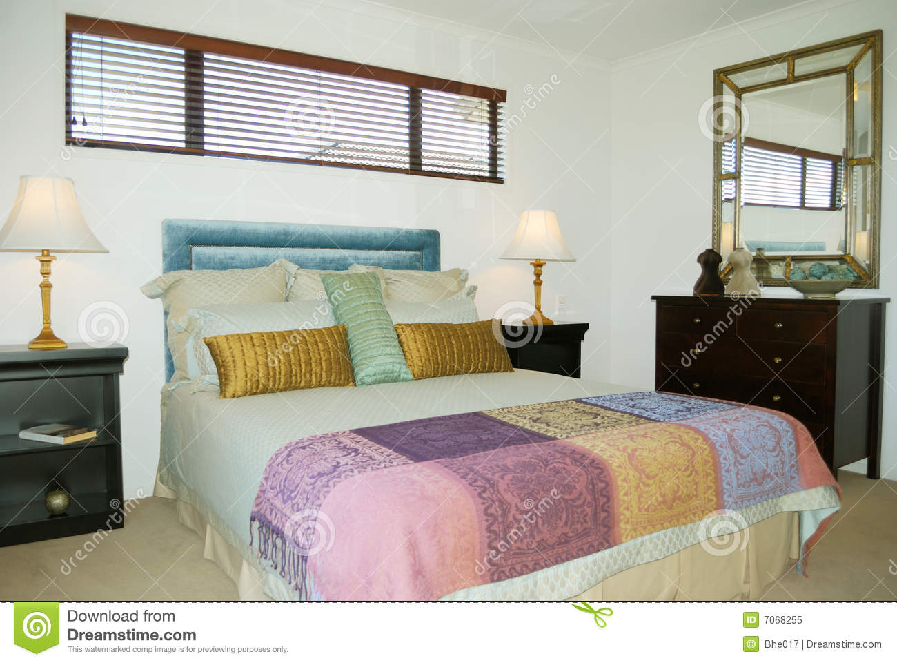 contemporary bedroom royalty free stock photo image 7068255