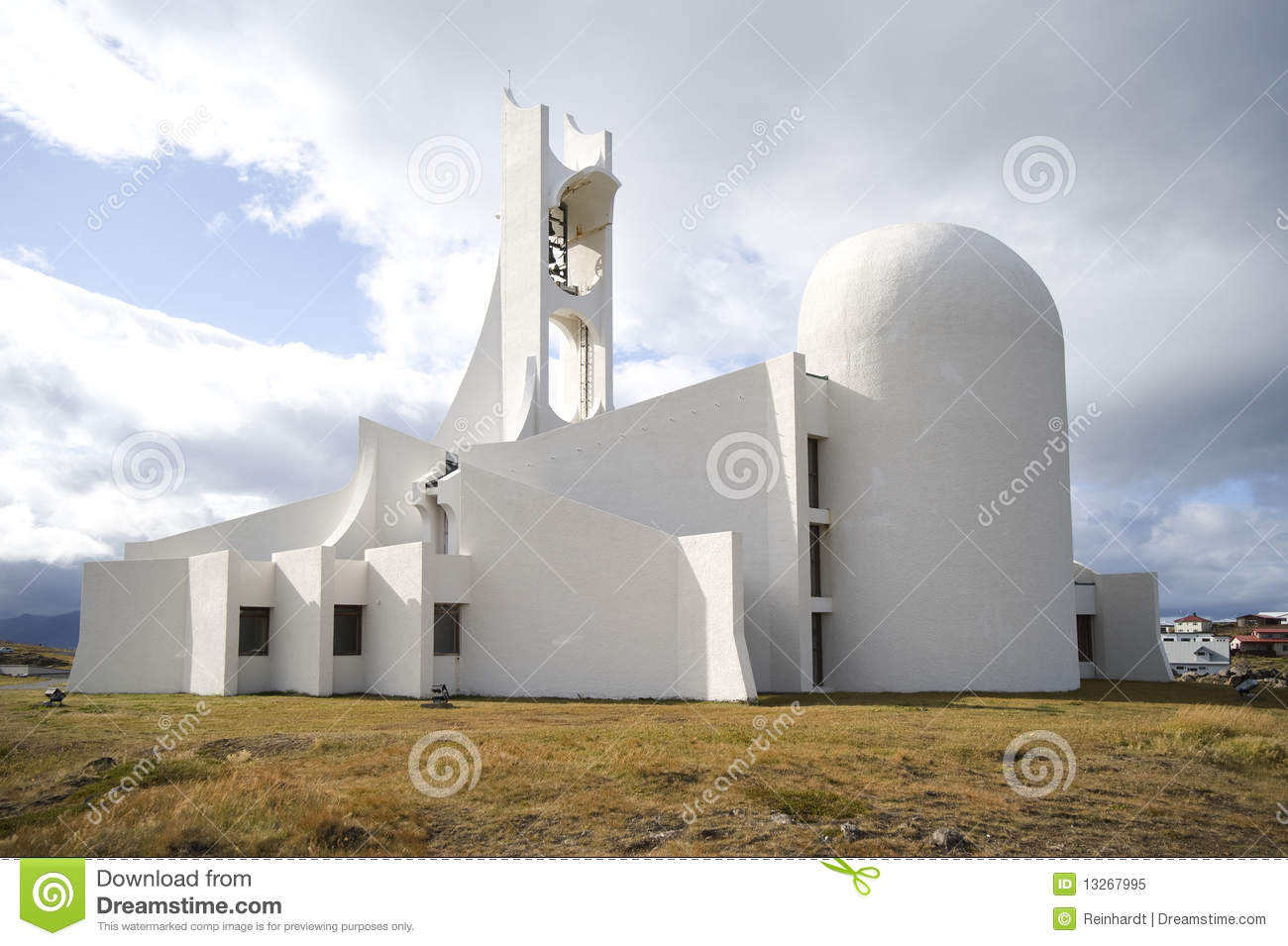 Contemporary Church Building Stock Image - Image of contemporary