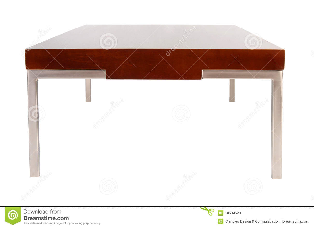contemporary coffee table isolated on white stock image contemporary coffee table furniture Welded Steel Coffee Tables