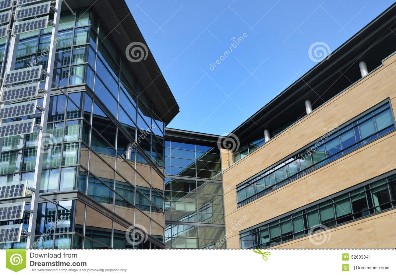 contemporary glass office. Download Contemporary Glass Office Building On Business Park Stock Image -  Of Edifice, Ceiling Contemporary Glass Office