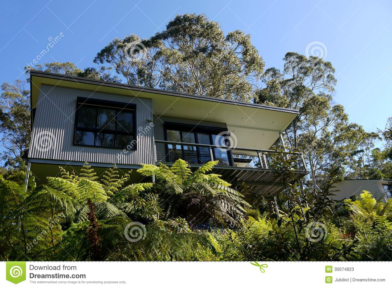 ustralia: Modern House In Bush Stock Photos - Image: 30074823 - ^