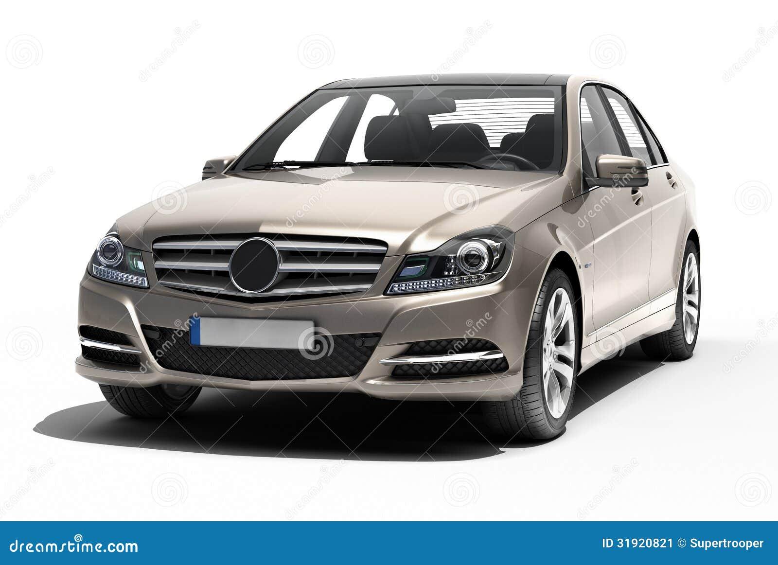 Contemporary Luxury Car Isolated Stock Image Image 31920821