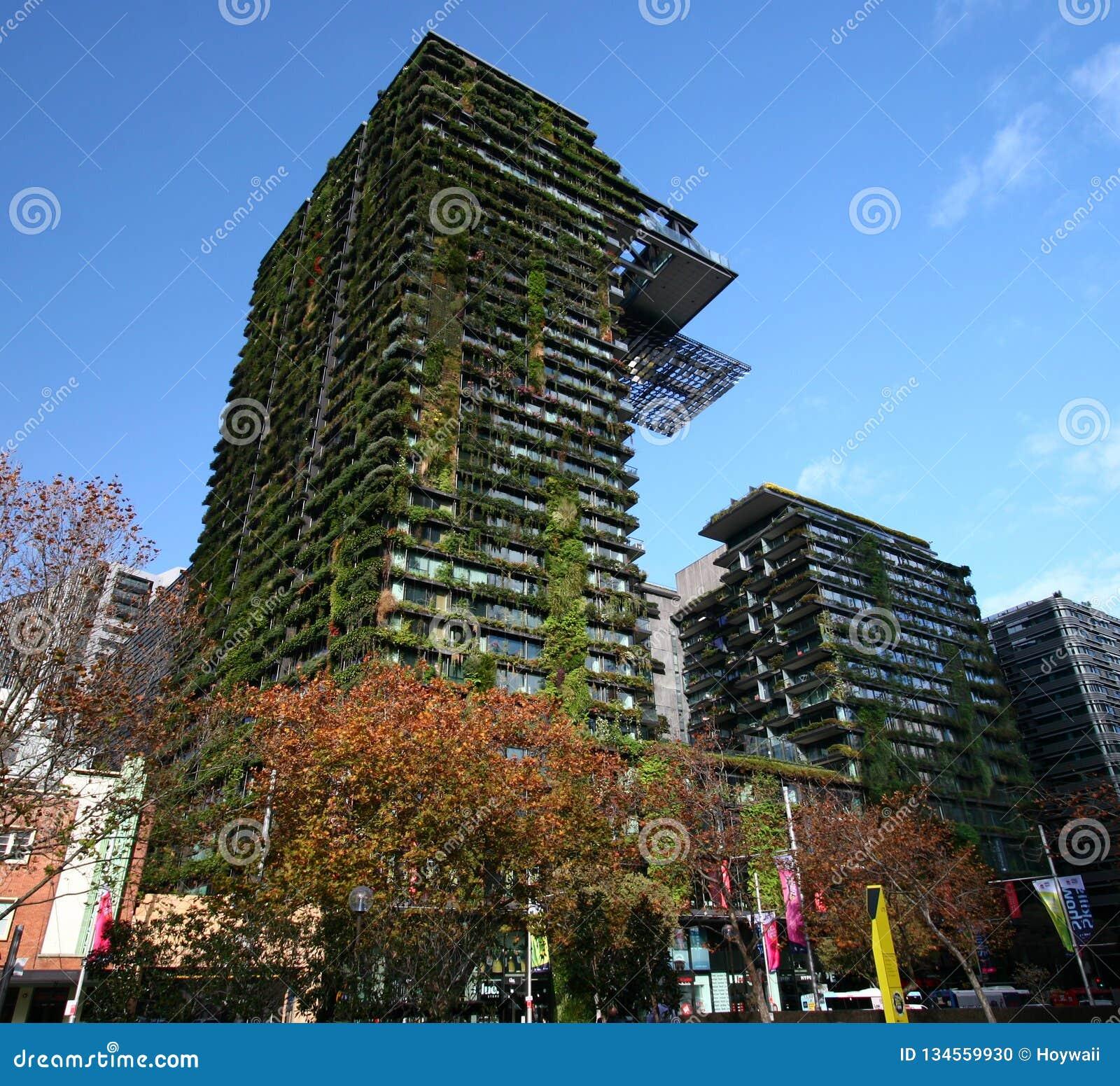 One Central Park By Jean Nouvel, Sydney, Australia. Modern