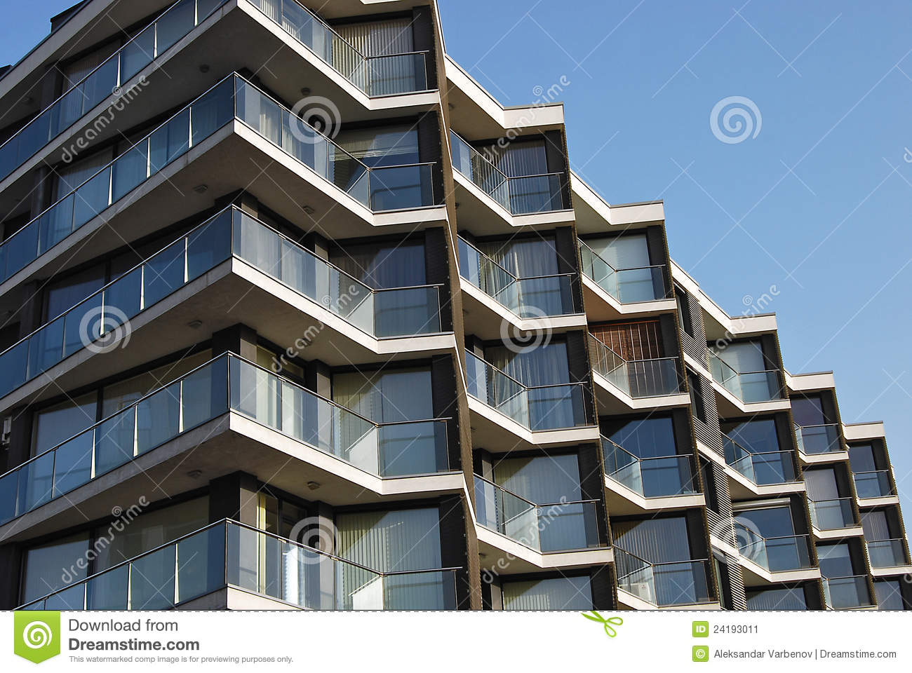 Contemporary residential building stock image image for Contemporary residential buildings