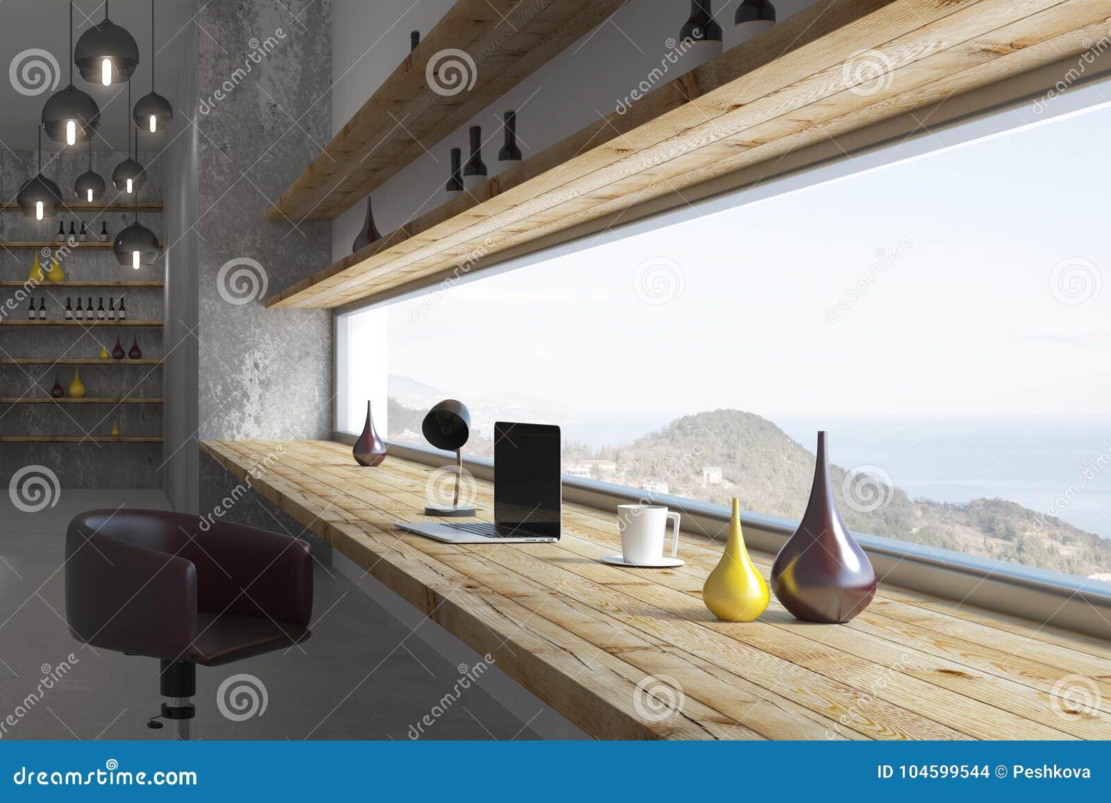 Contemporary Room Interior Design Stock Illustration Illustration