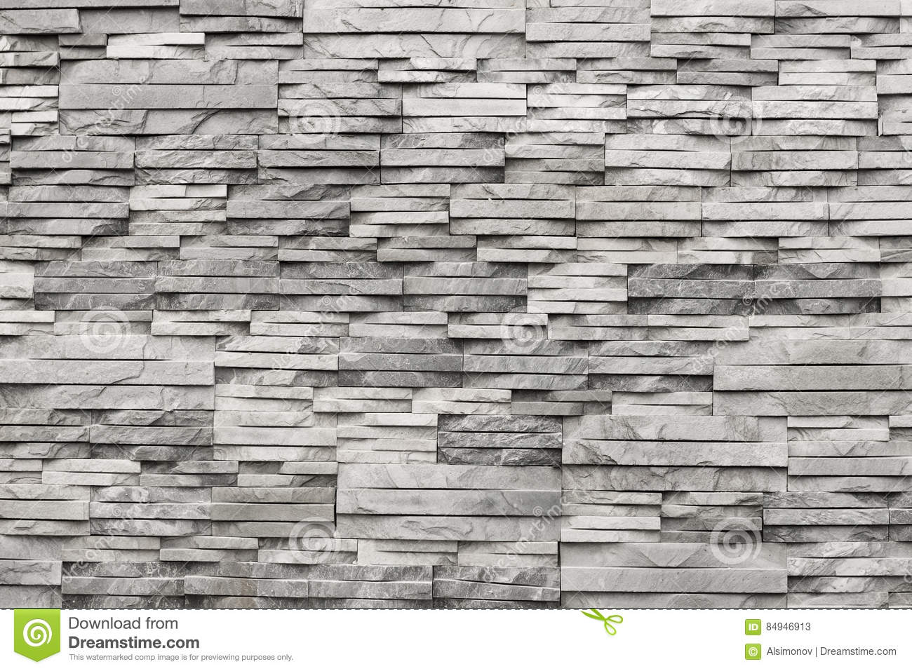 Contemporary wall of light grey natural stone texture stock image image of brick modern for Mcm interior wall stone reviews