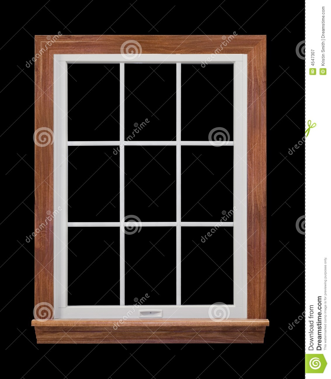 Contemporary window frame royalty free stock photography for Modern window design residential