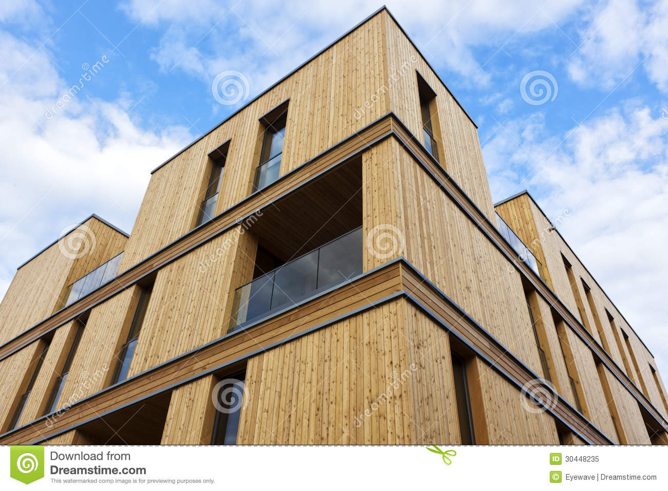Royalty Free Stock Photo Contemporary Wooden House Apartment Building Made Wood Hamburg Image30448235 on contemporary house plans