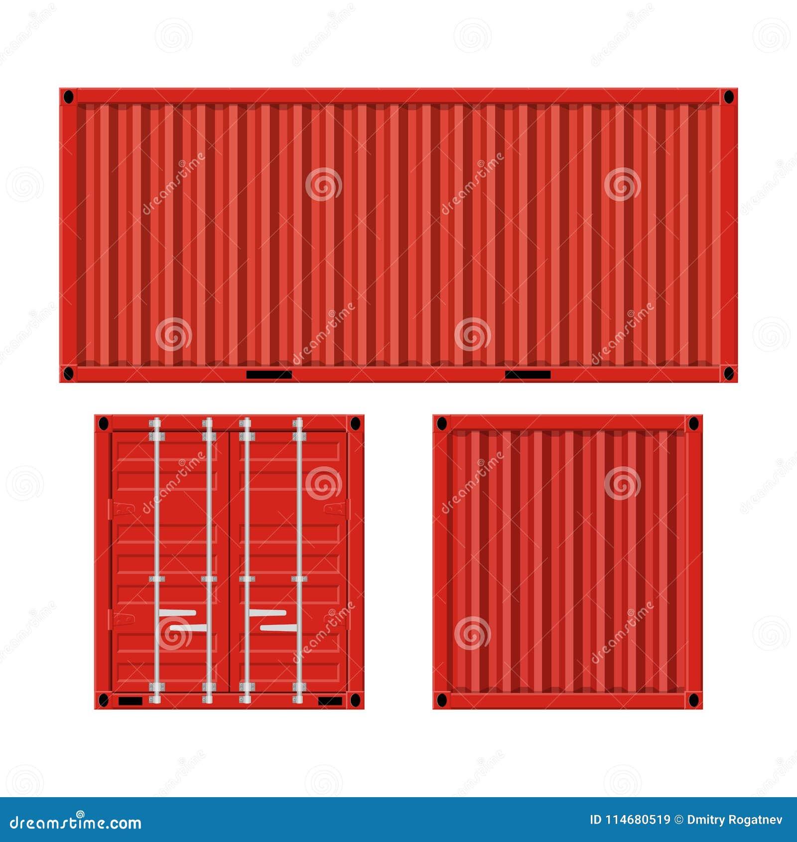 Contenedor para mercancías para enviar