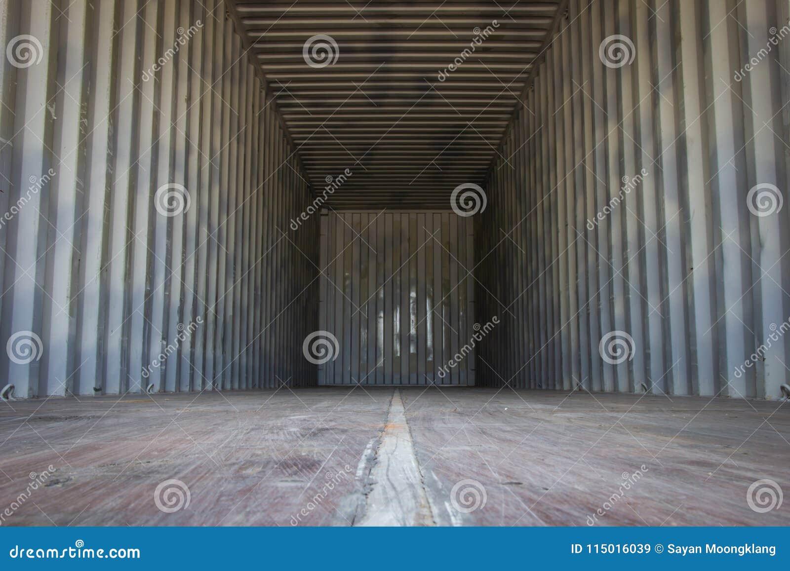 Contenedores para mercancías vacíos para los productos o el transporte de la exportación
