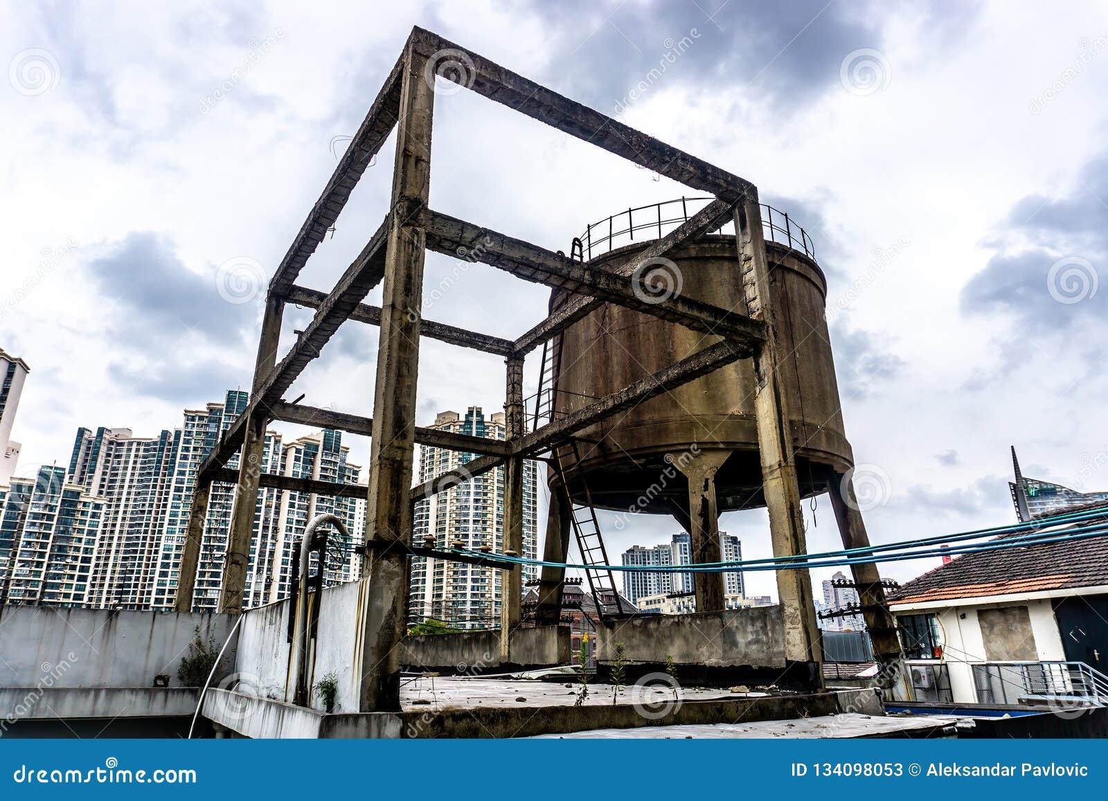 Conteneur de l eau de Changhaï