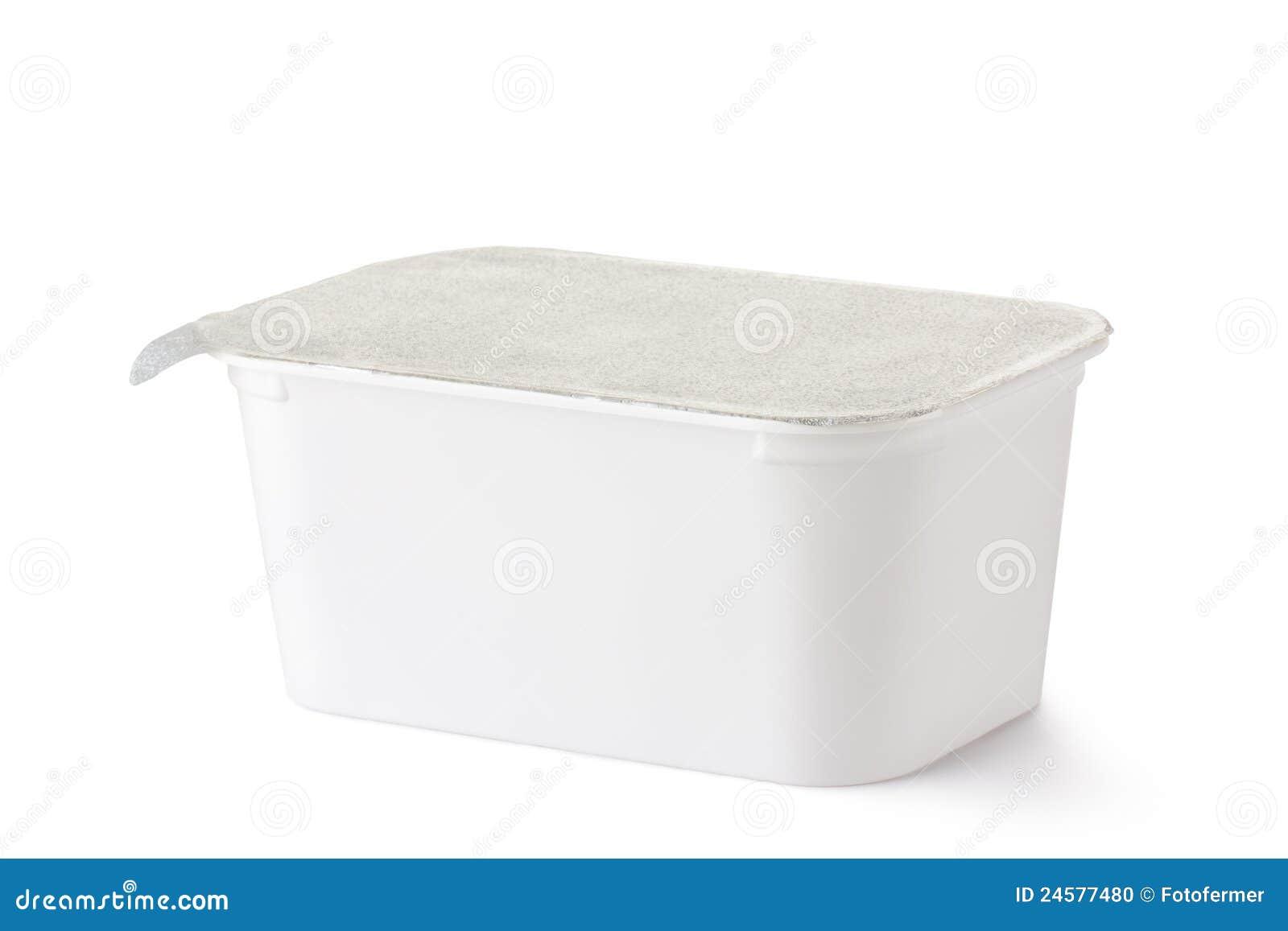 conteneur rectangulaire en plastique avec le couvercle de. Black Bedroom Furniture Sets. Home Design Ideas