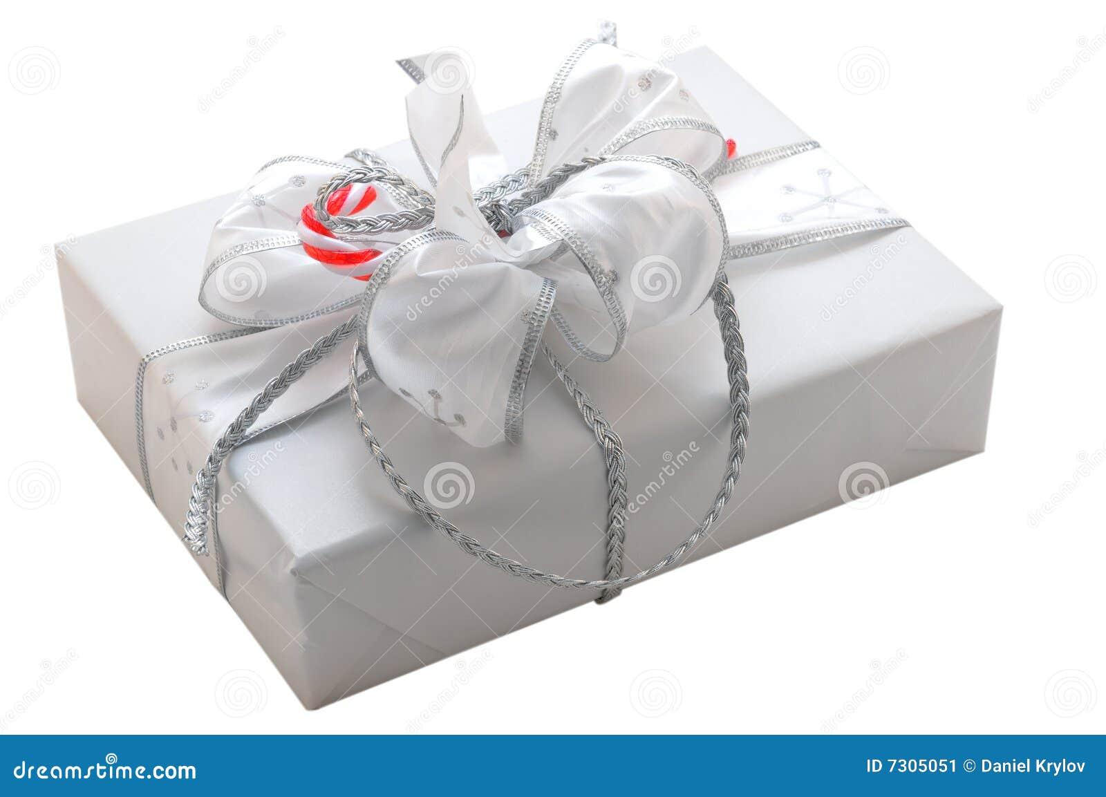 Contenitore di regalo isolato