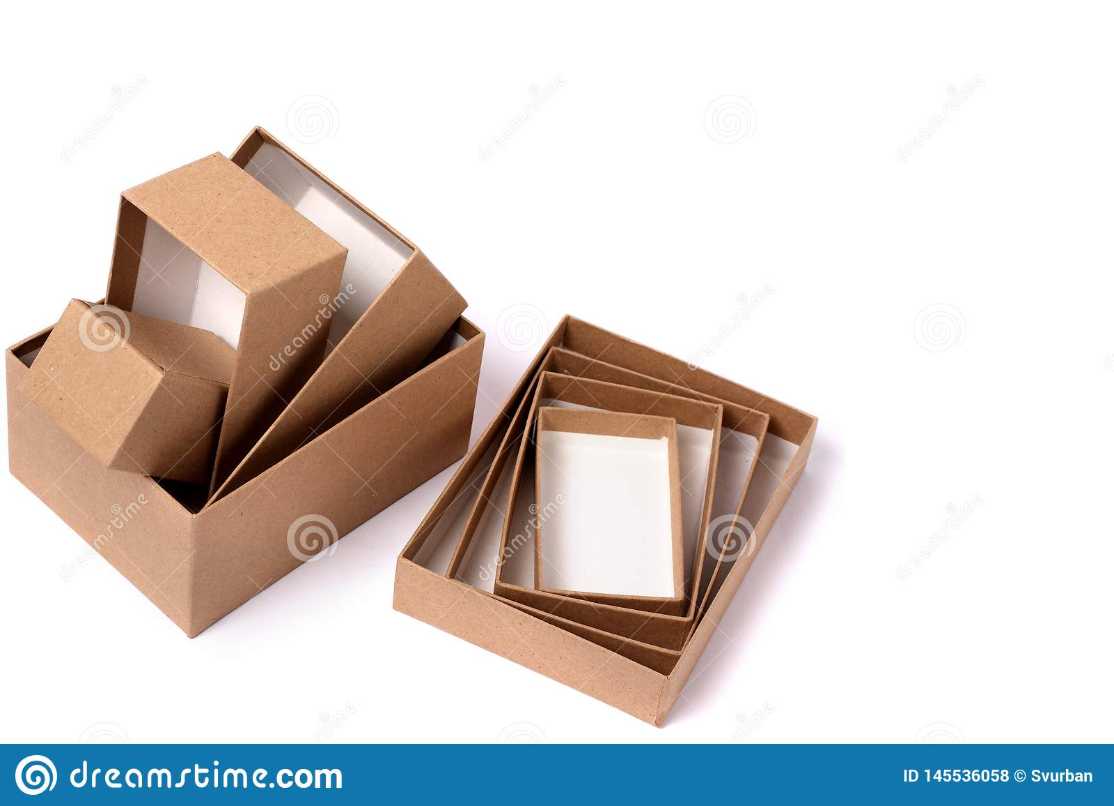 4 contenitori di regalo per i regali