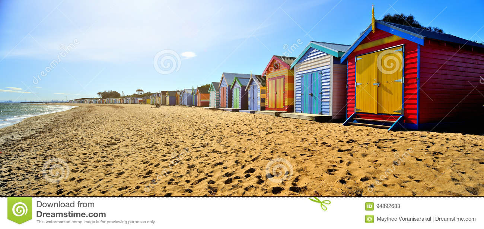 Contenitori di spiaggia di Brighton