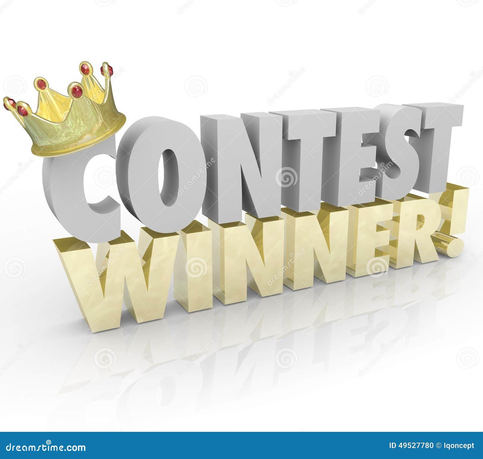 contest winner letter template