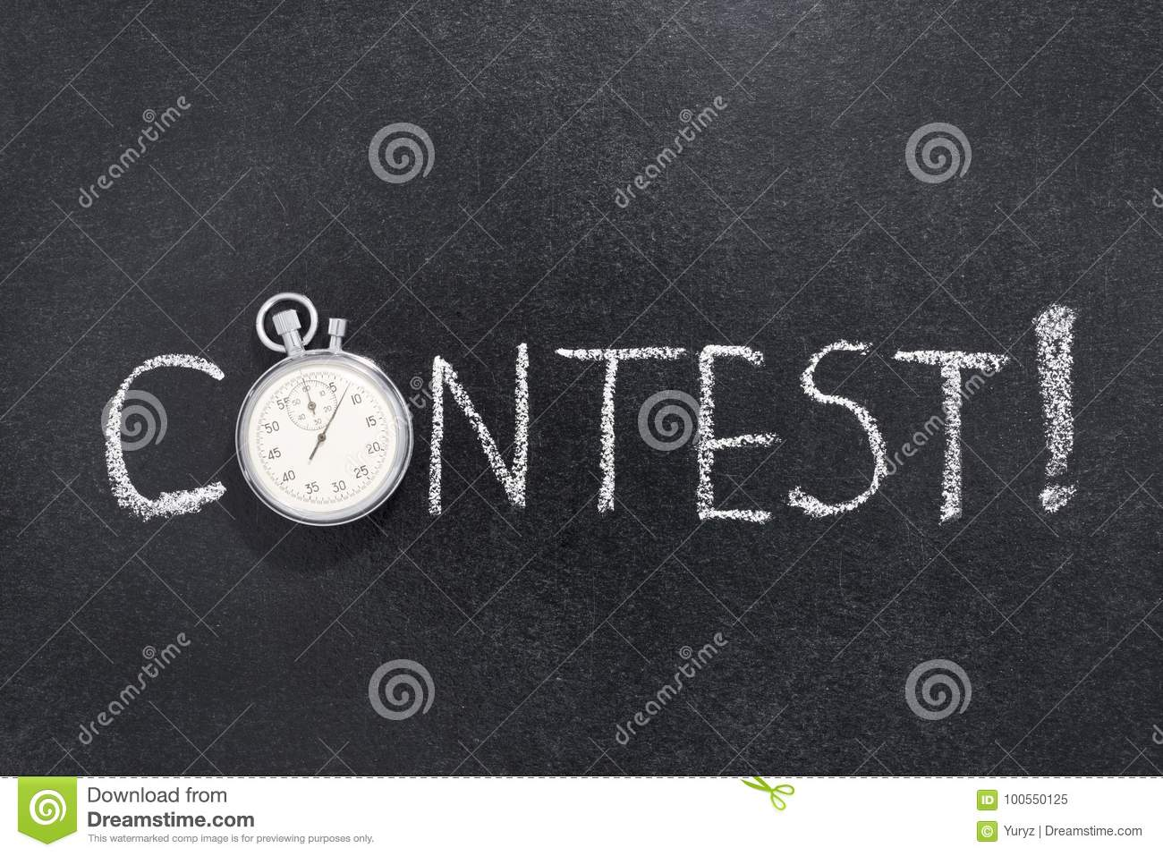 Contest word watch