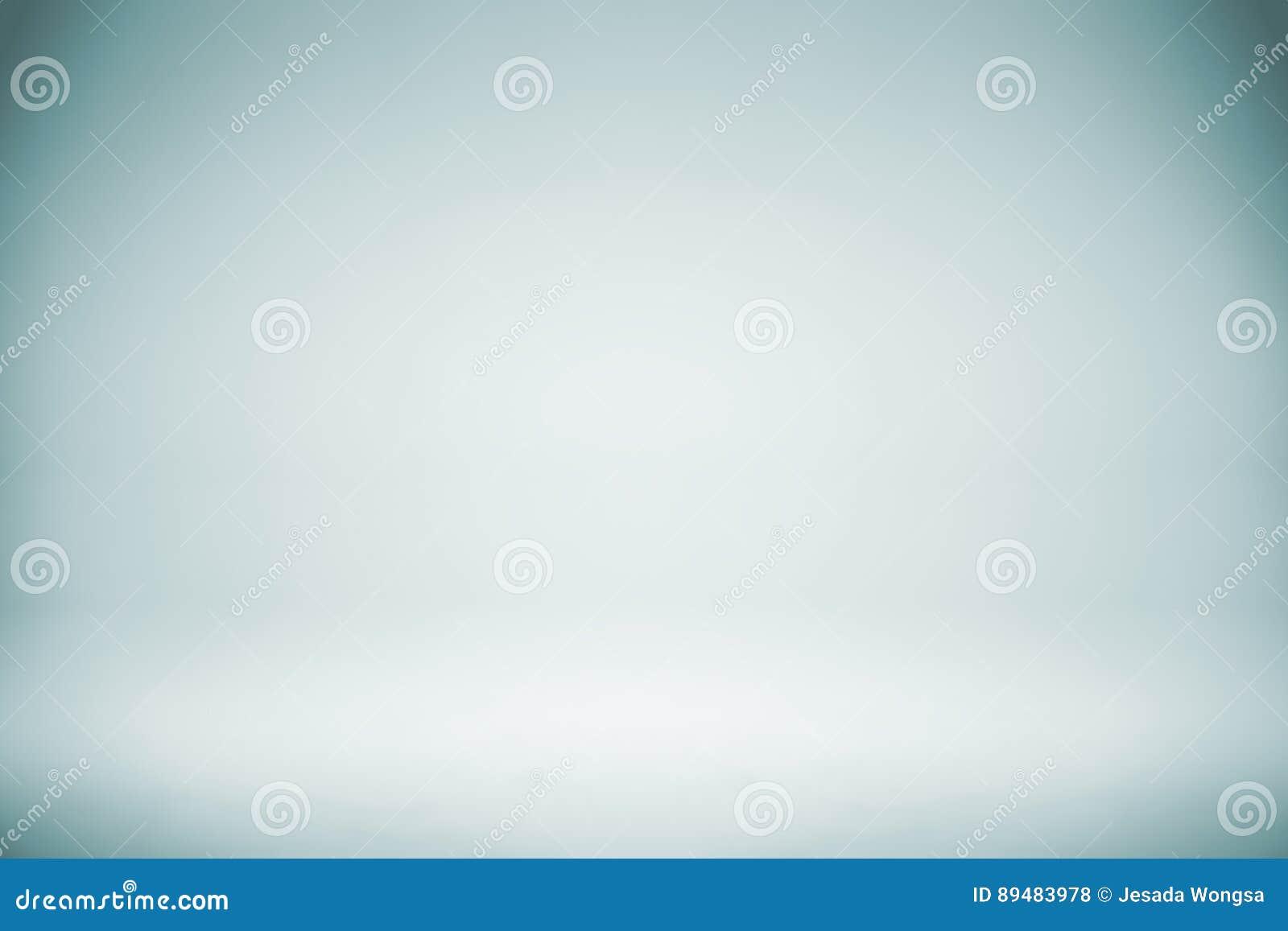Contesto bianco blu vuoto dello studio, estratto, fondo grigio di pendenza, colore d annata
