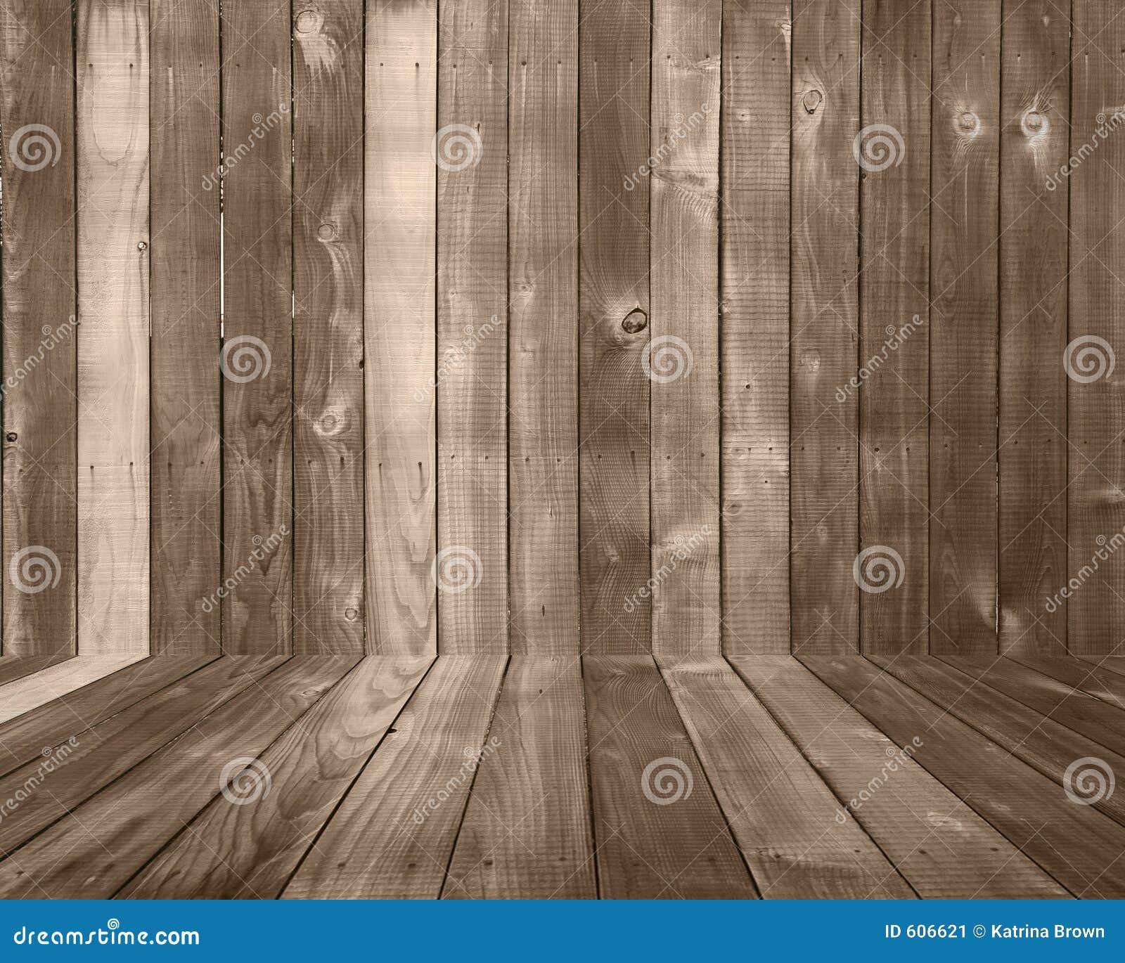 Contesto di legno della priorità bassa della plancia con il pavimento