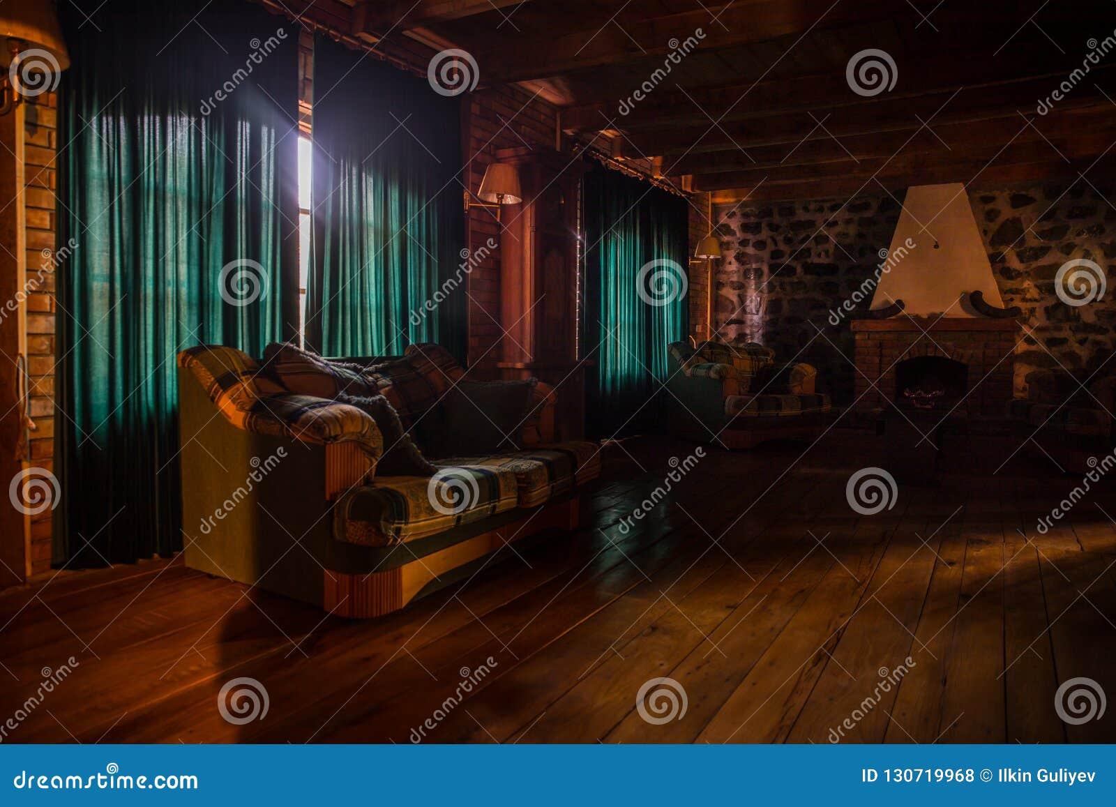 Contexte D Un Mur De Cheminee De Brique Dans Un Arrangement Vide Chambre Noire Avec De Grandes Fenetres Photo Stock Image Du Cheminee Chambre 130719968
