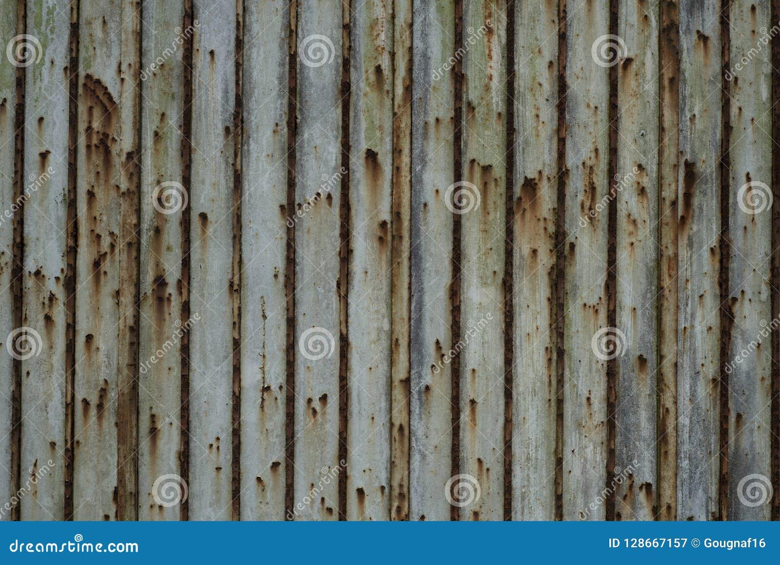 Contexte De Rideau De Fer Rouille Image Stock Image Du Systemes