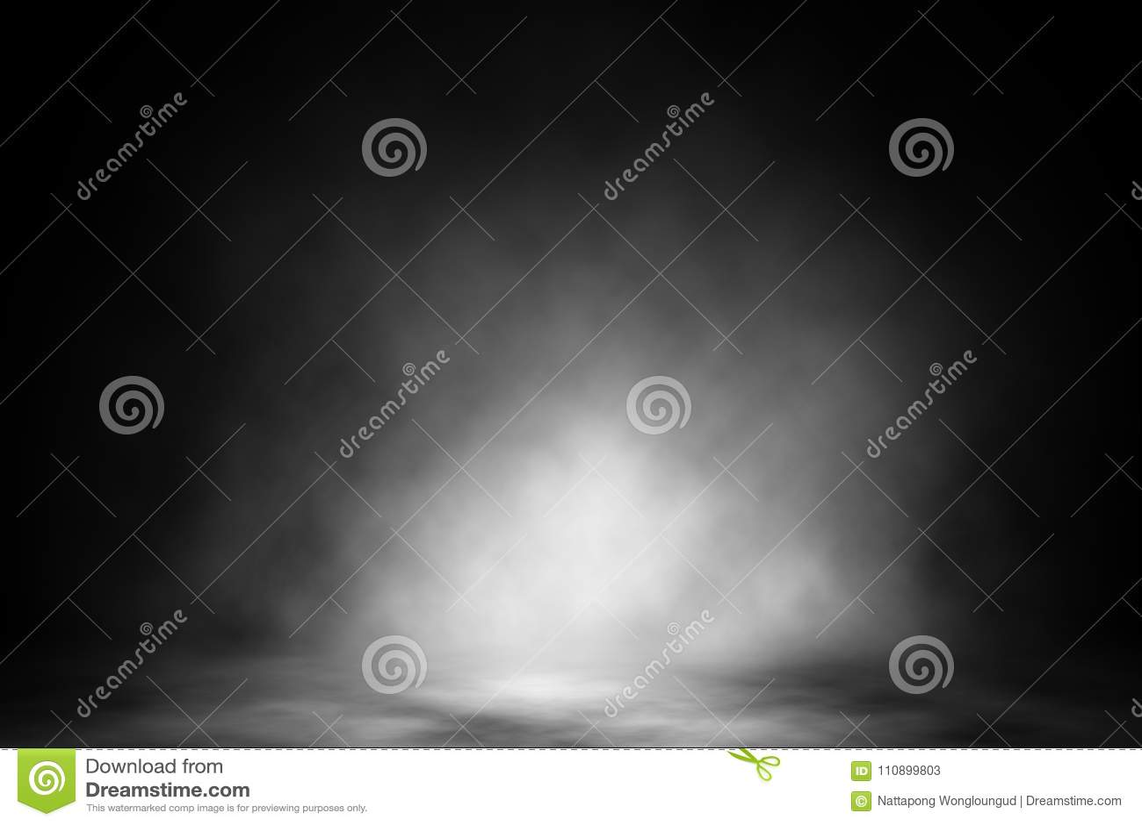 Contexto branco do clube noturno do fumo do projetor