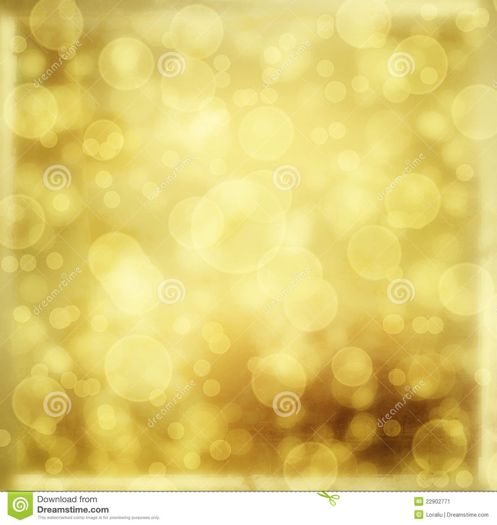 Contexto del oro para los saludos