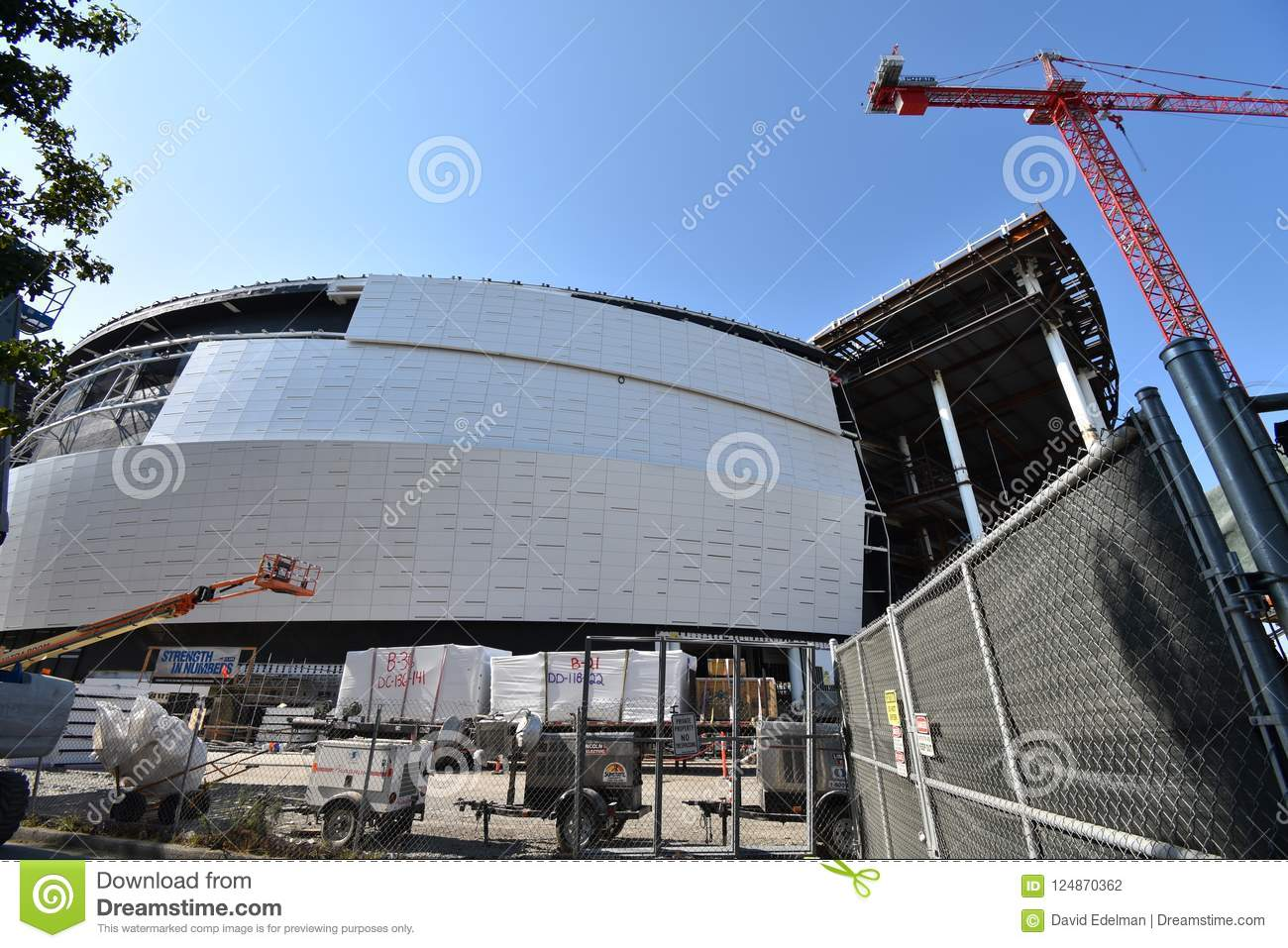 The Continuing Golden State Warriors New Stadium Under Construction 7 Editorial Photography Image Of Funding Public 124870362