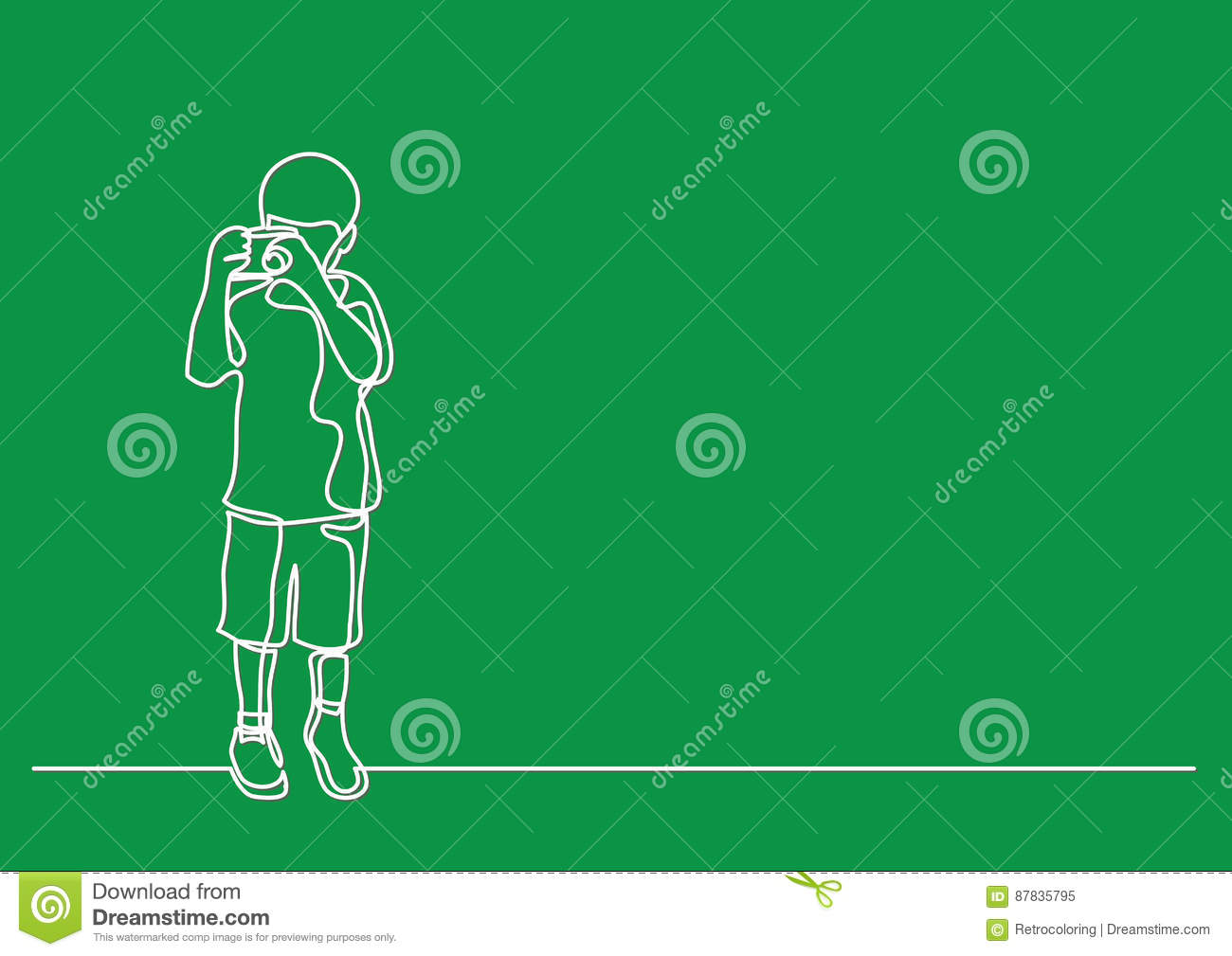 Line Drawing Boy : Young boy swimming clipart etc