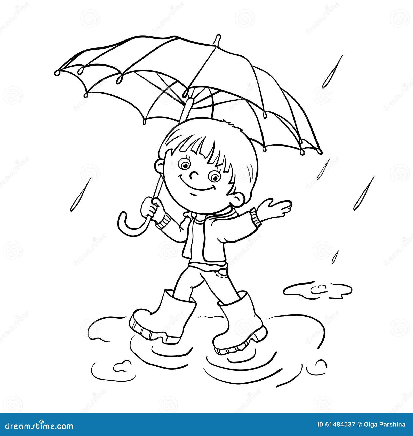 Rain coat clip art black and white