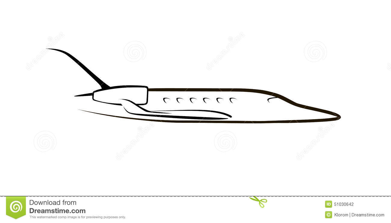 Private Jet Drawing  Wwwimgkid  The Image Kid Has It