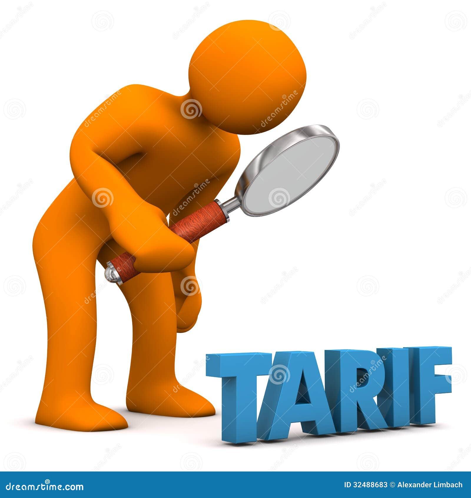 Contr le de tarif illustration stock illustration du for Tarif de tonte de pelouse