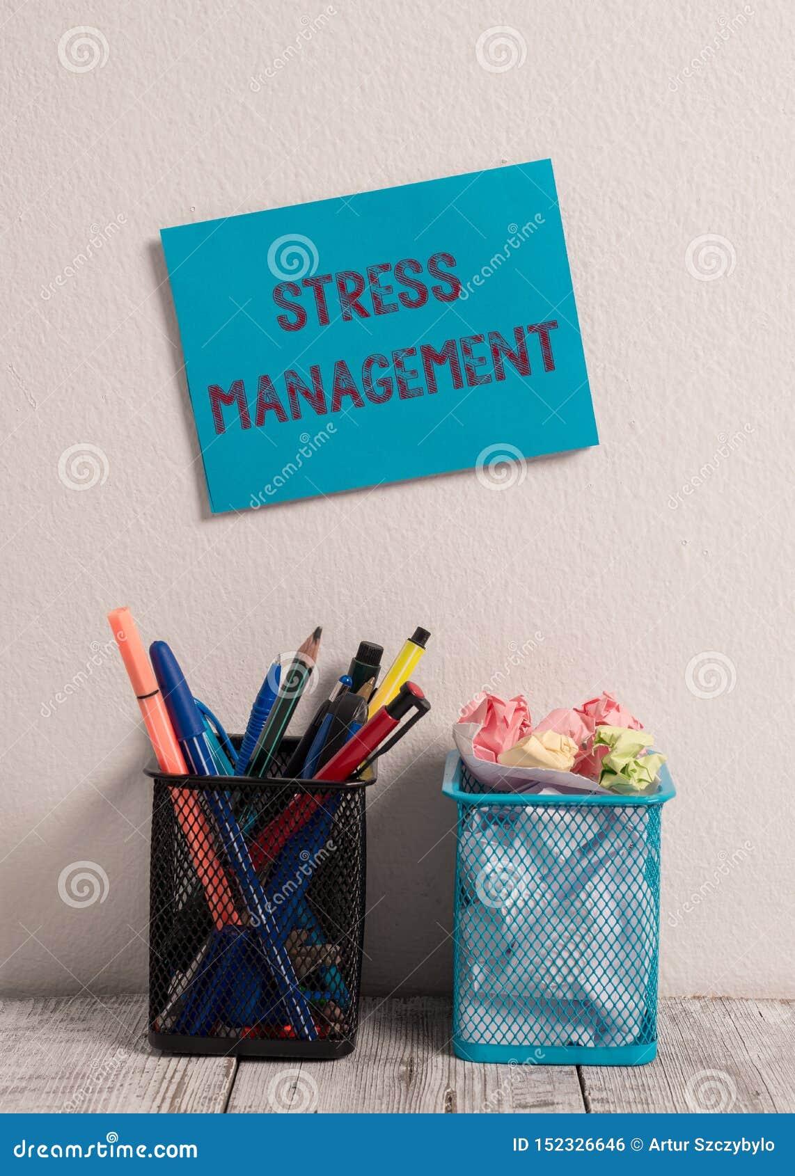Contr?le du stress des textes d ?criture de Word Concept d affaires pour la méthode d effort limite et ses effets en apprenant de
