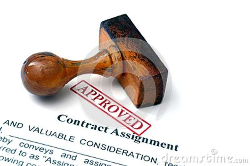 payment assignment contract
