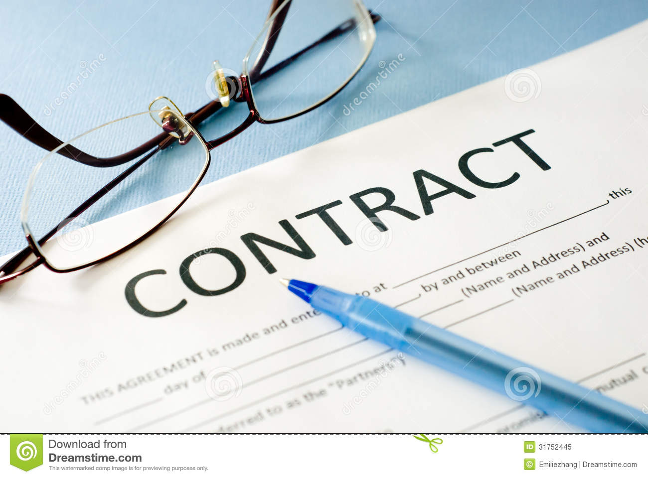 what is the concept of free contract