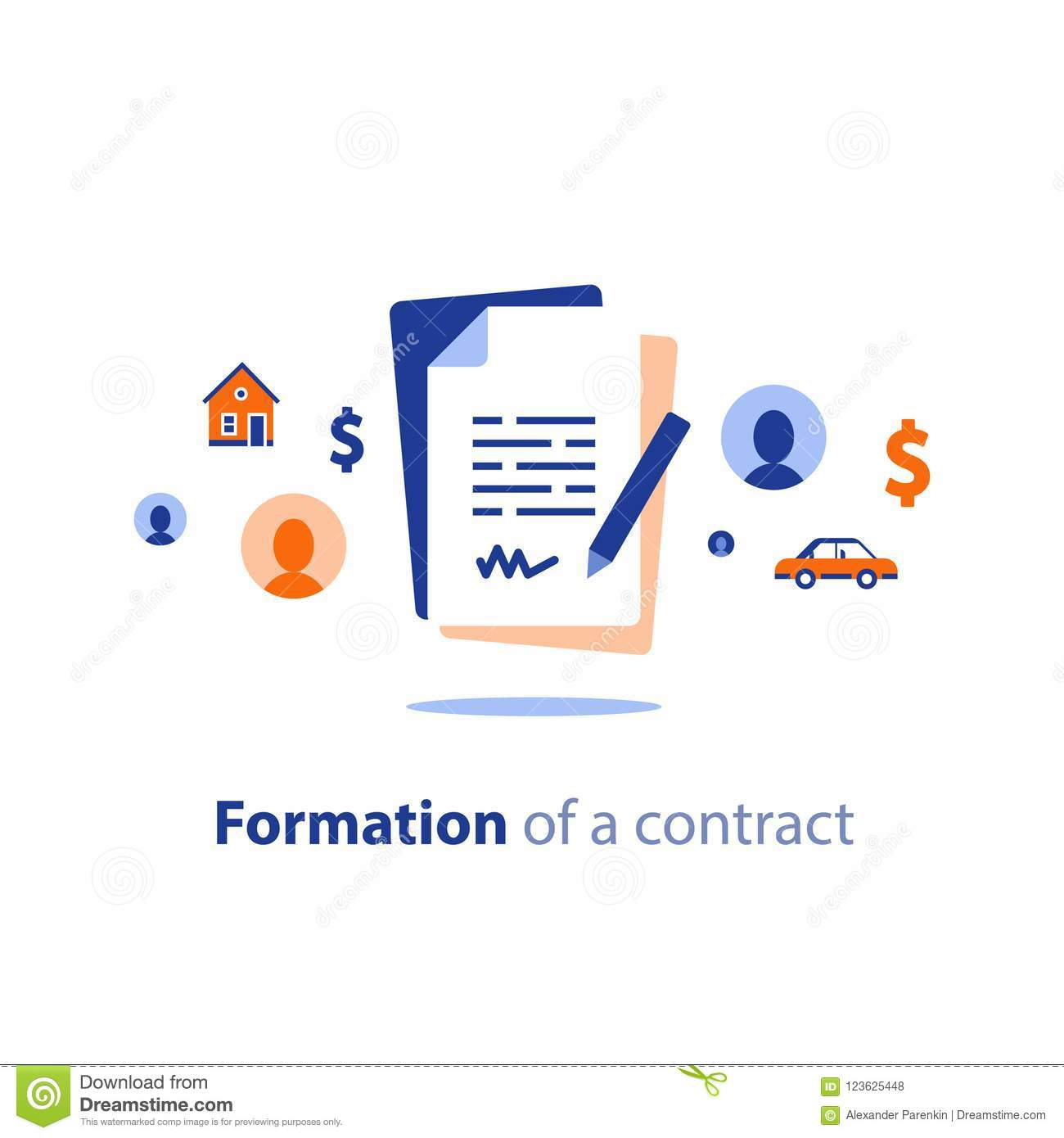 Contract Creation Service Document Formation Last Will Prenup Term