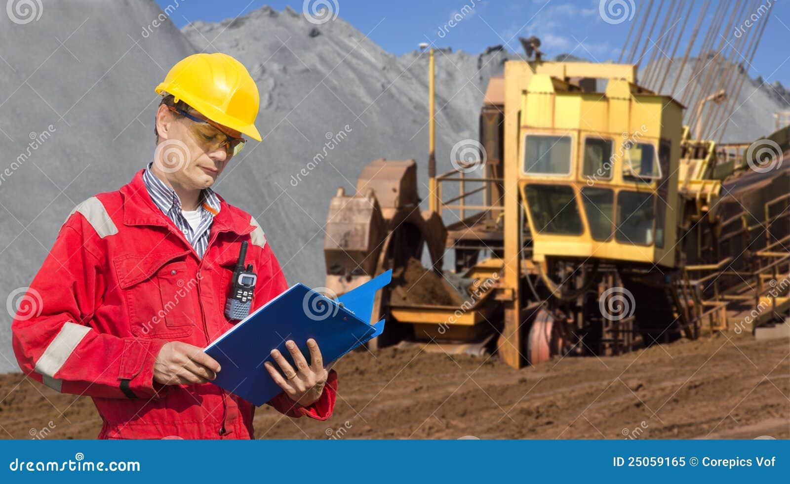 Contramestre de mineração